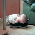 Sleeping in Café's